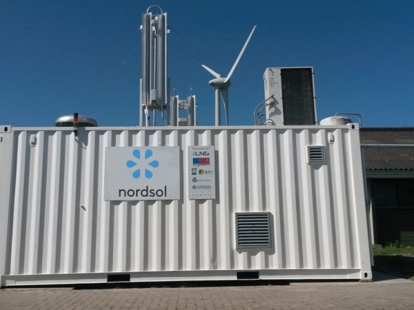 Nordsol-LNG-container
