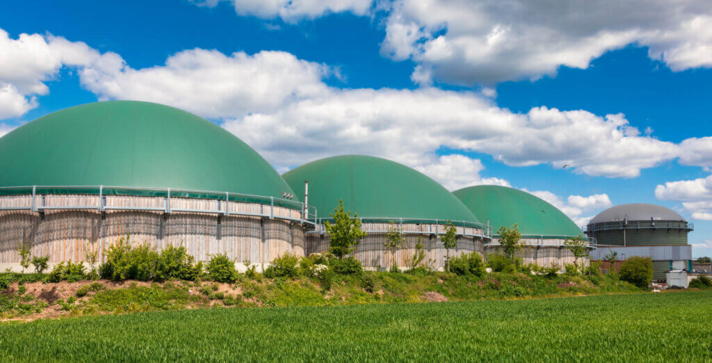 Biogas to bio-LNG in agricultural sector